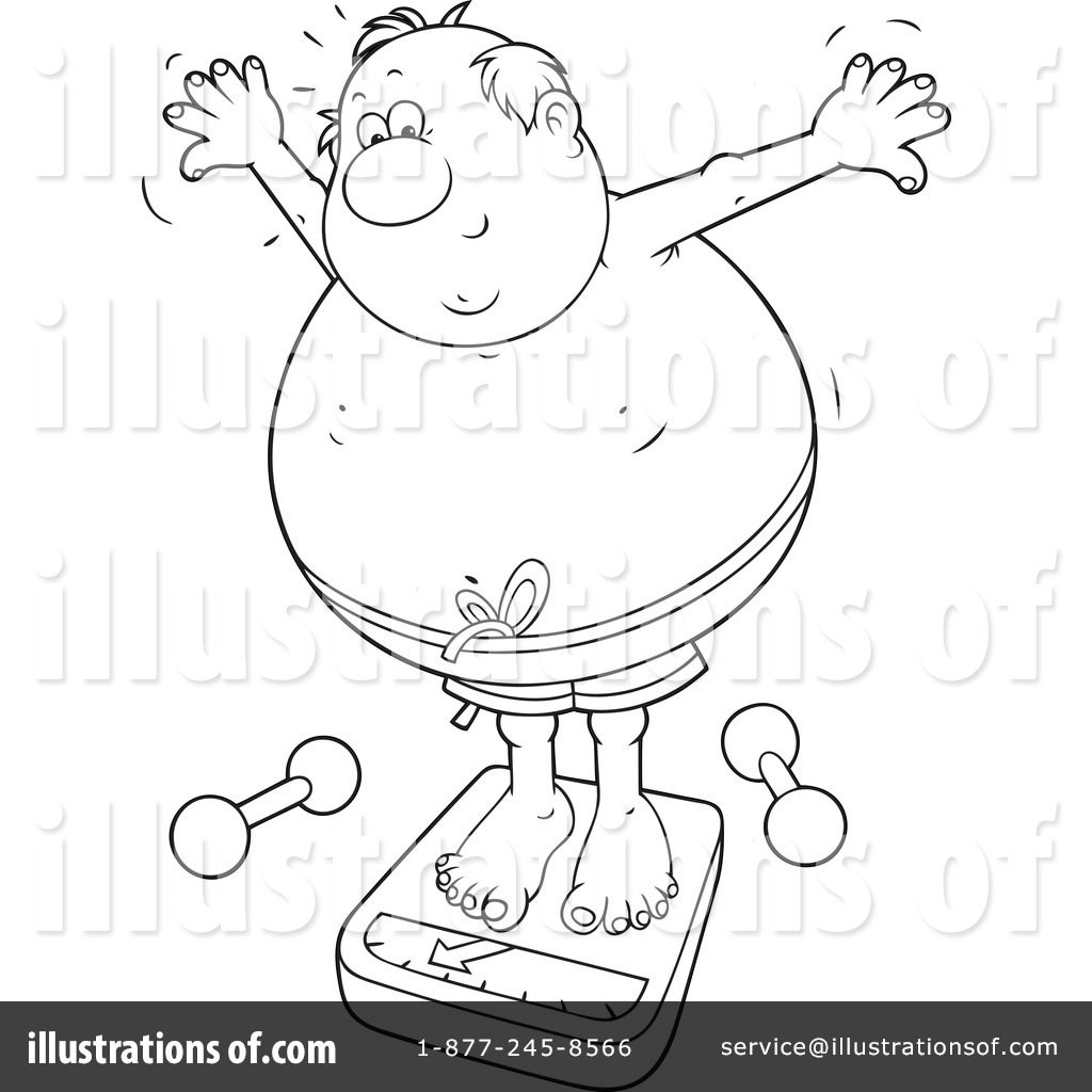 Overweight Clipart