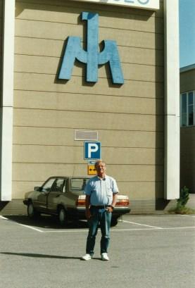 Börje toimi Suomen Ilmailumuseon ensimmäisenä palkattuna työntekijänä ja museonhoitajana vuodet 1982-1992.