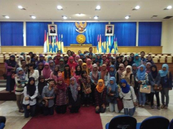 Sharing di Festival Big Heart Indonesia, Universitas Airlangga