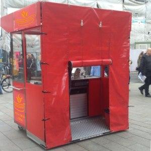 Мобильный торговый павильон ilmax