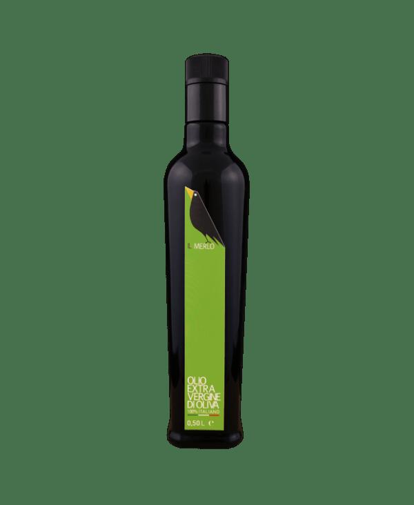 Bottiglia da 0,50L Il Merlo Olio Extra Vergine di Oliva