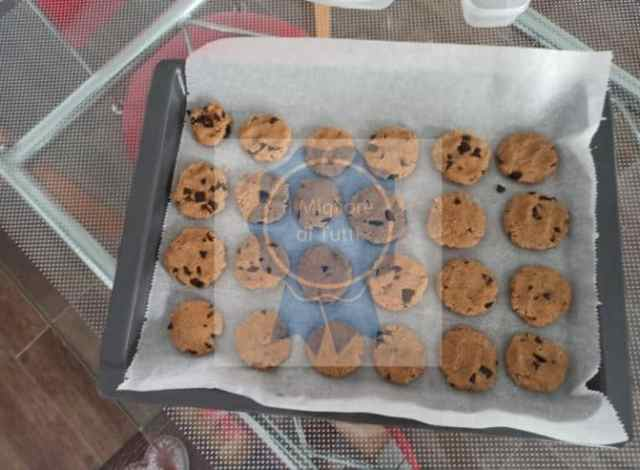 Teglia di biscotti di chufa