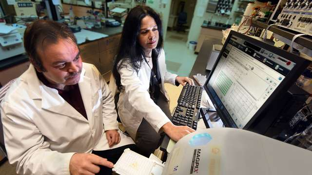Drs. Rudolf Lucas e Maritza Romero
