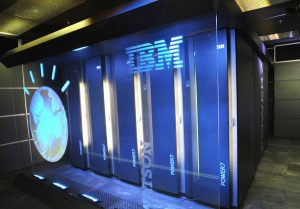 Watson, powered by IBM POWER7, is a work-load optimized system that can answer questions posed in natural language over a nearly unlimited range of knowledge. ANSA / UFFICIO STAMPA IBM +++NO SALES - EDITORIAL USE ONLY++++