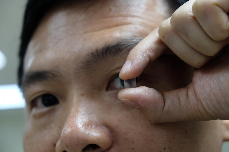 benda sullocchio per infezione