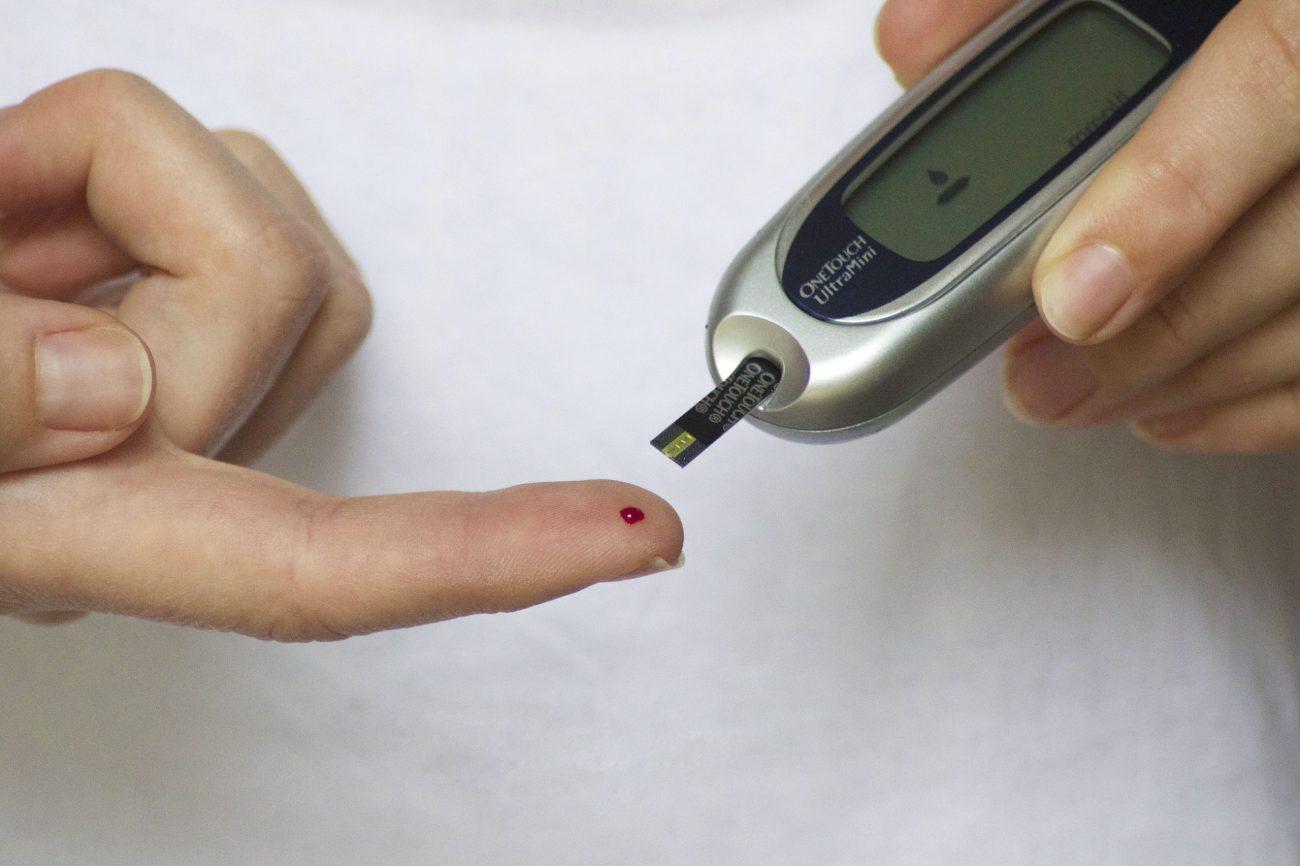 diabetes, blood, finger