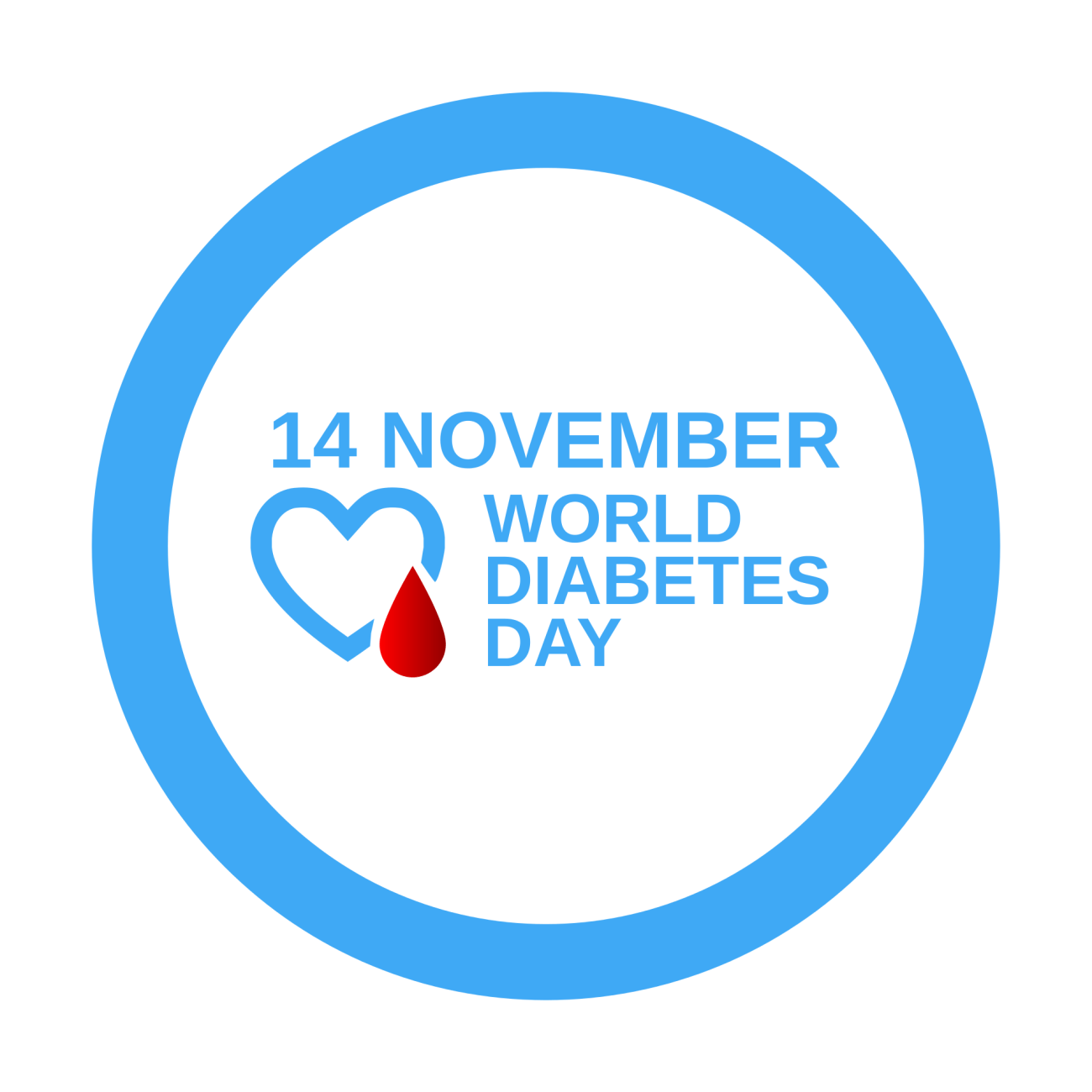 the world day of struggle against diabetes, 14 nov, vector graphics