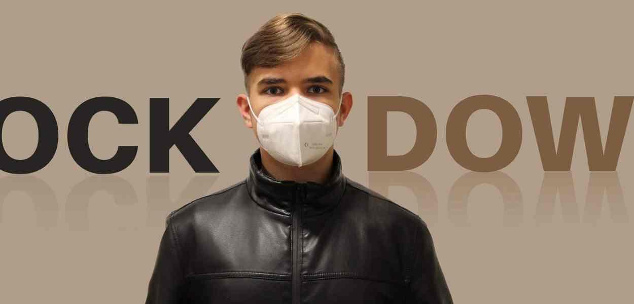 lockdown, boy, mask