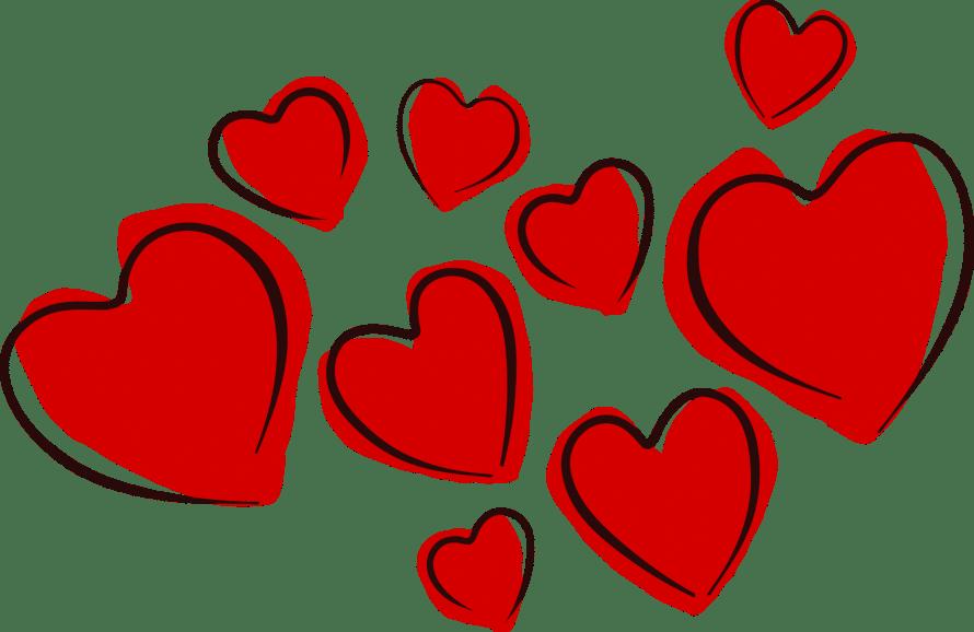 hearts, valentine, love