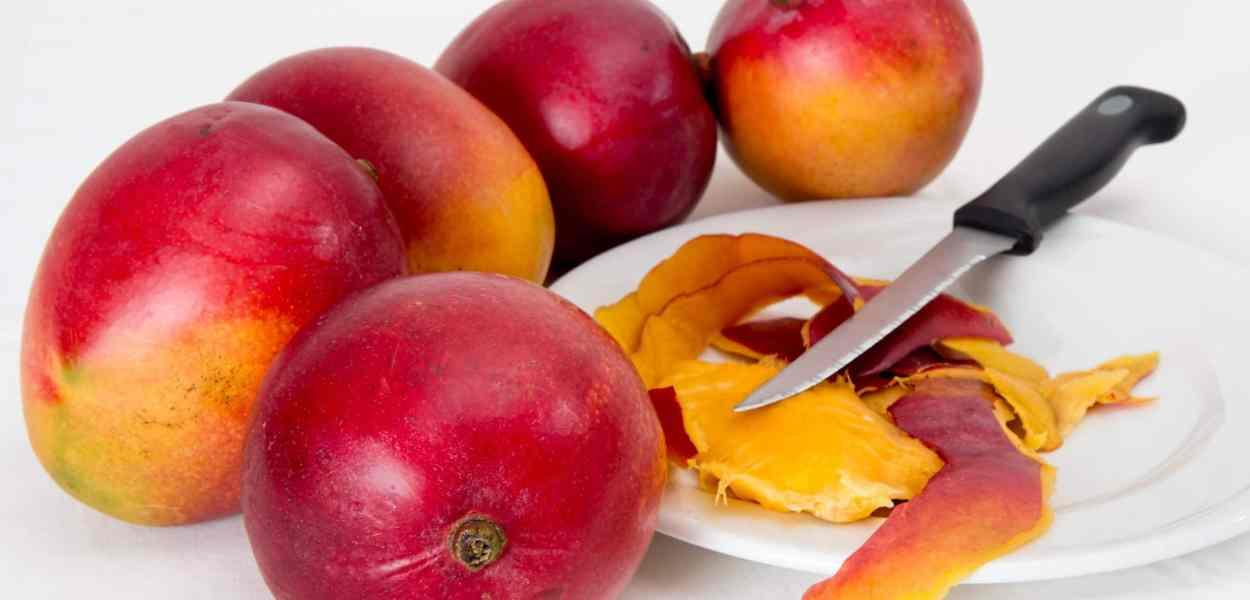 mango, tropical fruit, juicy