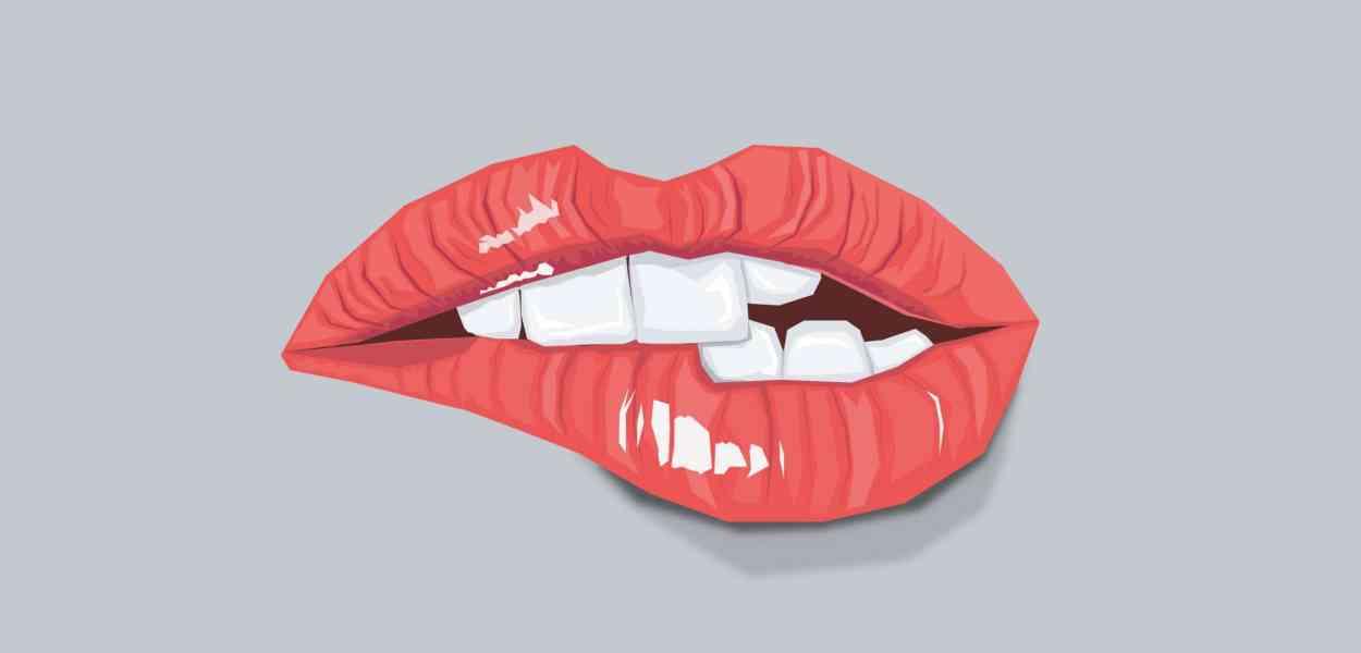 sexy, lips, fashion