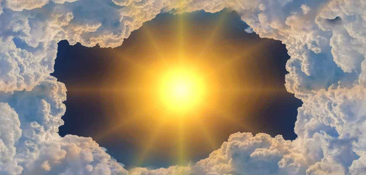 sun, cloud, climate