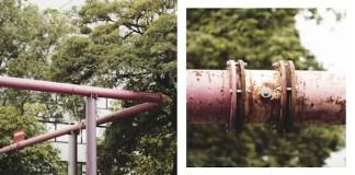 Perché... tubi rosa e tubi blu per le strade di Berlino?