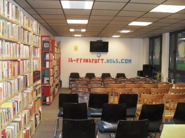 Lo spazio Italo-Portoghese dove hanno sede diverse associazioni partecipanti al progetto e dove è stata firmato il documento per la costituzione di Piazza Francoforte
