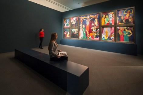 "Ausstellungsansicht ""Emil Nolde. Retrospektive"" Städel Museum, Frankfurt am Main Foto: Norbert Miguletz © Nolde Stiftung Seebüll"