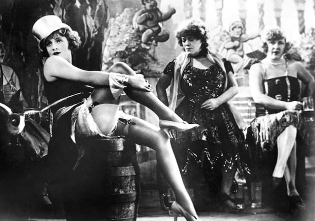 Dal film Der Blaue Engel (1930) di Josef von Sternberg