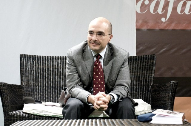 Il vicedirettore del Tg1 Gennaro Sangiuliano (foto per gentile concessione dello stesso)
