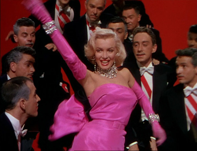 """Gentlemen prefer blondes"" in Technicolor"