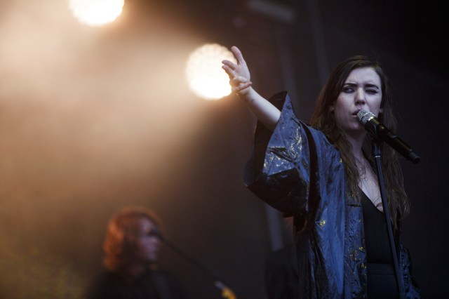 Lykke Li al Lollapalooza 2014 | © Cambria Harkey [free press photo]
