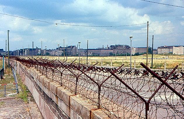 Berlino est, vista dal Muro