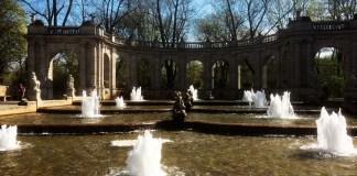 Märchenbrunnen Volkspark Friedrichshain fontana