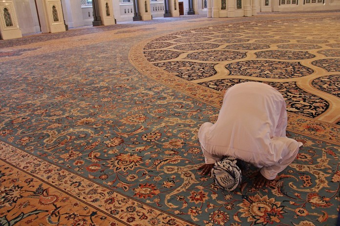 preghiera islamica photo