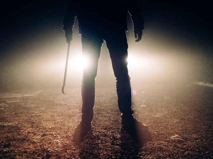 violent man photo