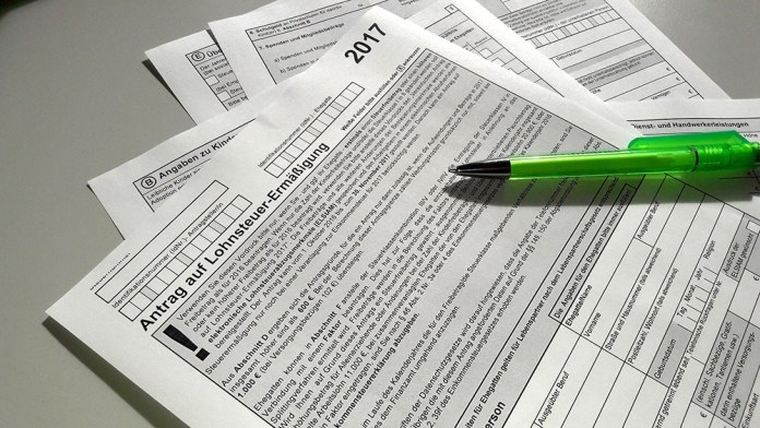 dichiarazione dei redditi in germania finanzamt