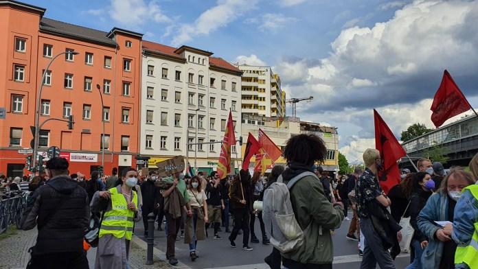 manifestazioni pro-Palestina