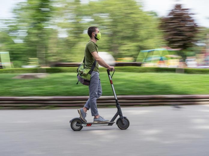 e-scooter e ciclisti