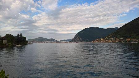 Floating piers da Sulzano
