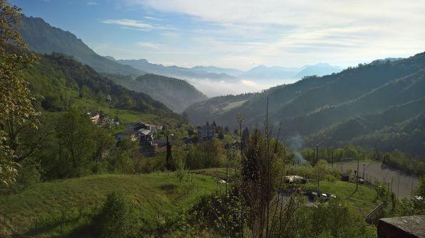 la valle vista da Alone