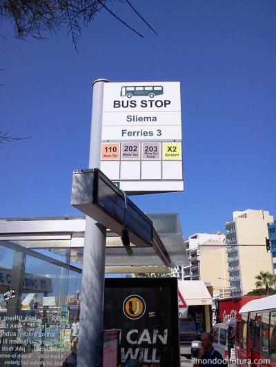fermata autobus sliema malta