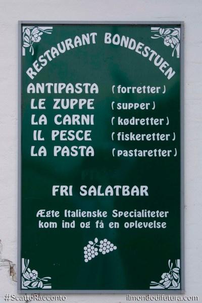 ristorante italiano in danimarca
