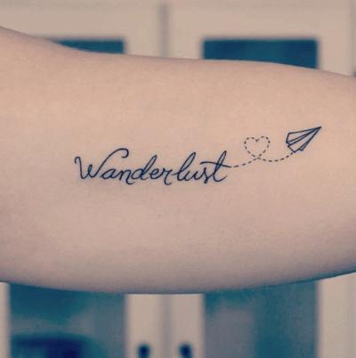 wanderlust tatoo