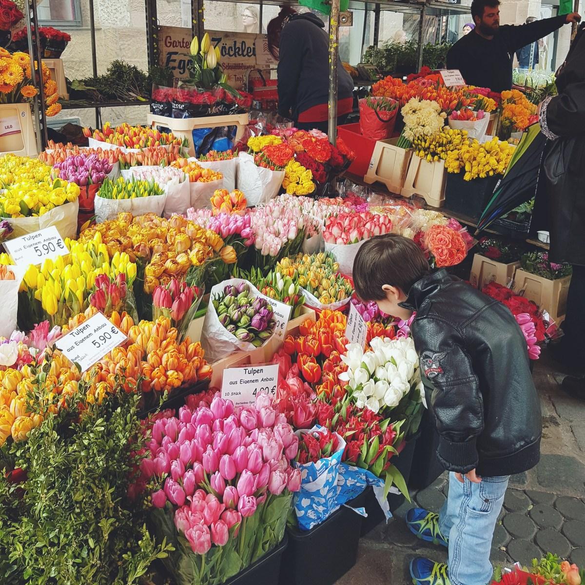 Norimberga: tra würstel e tulipani la mia prima volta in Germania!