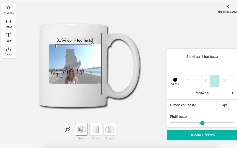 Gadget personalizzati con le tue foto | CuoreViaggiatore