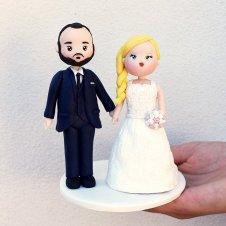 La sposa con la treccia