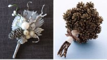 pine-cone-bout-bouquet-wedding