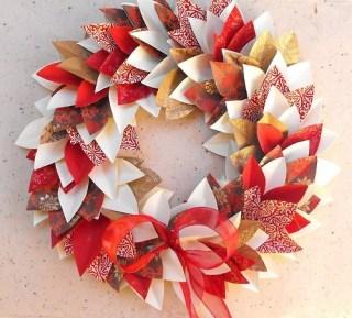 ghirlanda-di-natale-origami