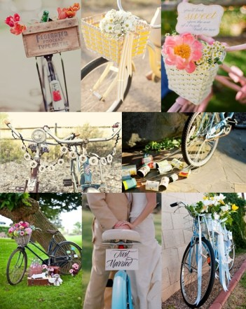 Using-Bicycles-as-Wedding-Decorations-Mood-Board