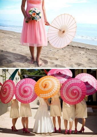 Paper Parasols-Wedding-Details-Pink-Umbrellas-Wedding