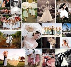 weddingsParasols