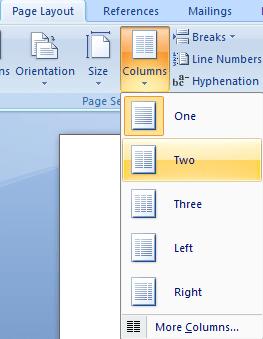 Membuat Kartu Ucapan Dengan Microsoft Word 2007 Ilmukomputertips