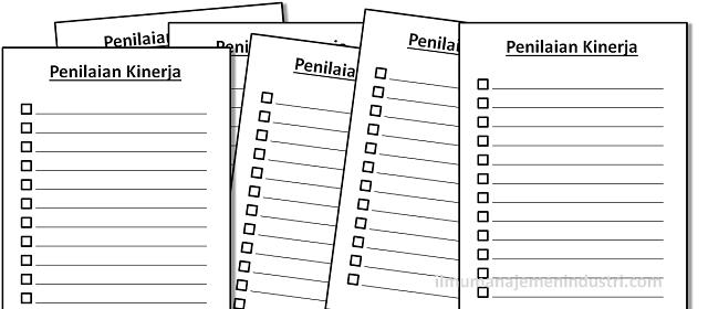 Pengertian Penilaian Kinerja (Performance Appraisal)
