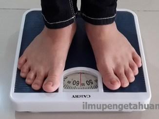 Cara menghitung BMI (Body Mass Index) secara manual