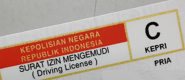 Jenis dan Syarat Surat Izin Mengemudi (SIM) Indonesia