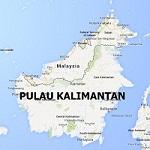 Pulau Kalimantan (Borneo)