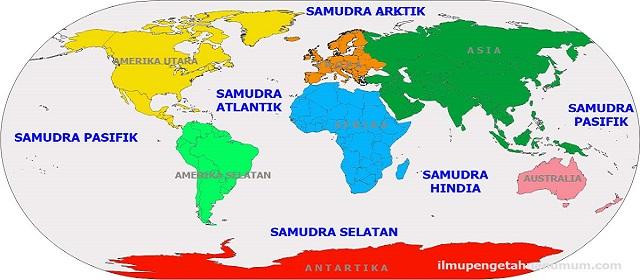 5 samudra di dunia