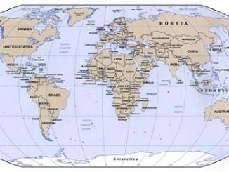 Daftar Negara-negara di Dunia berserta Ibukotanya